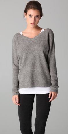 One of many gorgeous comfy sweaters from Vince this fall.