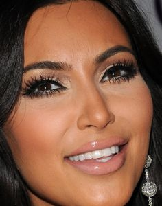 Kim Kardashian's make up