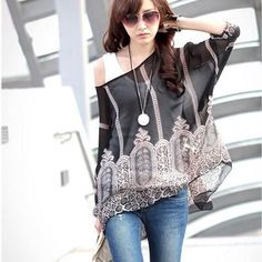 Simply awesome Women's Blouse Casual Chiffon Blouse. Find it in my store ✨ http://periwinklefashion.com/products/womens-blouse-casual-chiffon-blouse-5?utm_campaign=crowdfire&utm_content=crowdfire&utm_medium=social&utm_source=pinterest