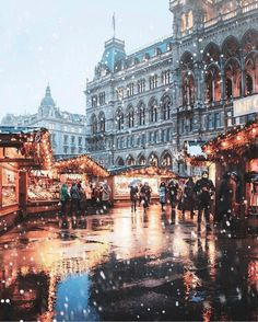 christmas aesthetic Vienna Christmas markets, complete with chalet-style stalls, sparkling fairy lights, and the soft sounds of Christmas music, are a must-visit for any Christmas lover. Oh The Places You'll Go, Places To Travel, Places To Visit, Travel Destinations, Holiday Destinations, Beautiful World, Beautiful Places, Wonderful Places, Vienna Christmas