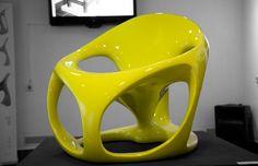 Bionic armchair on Behance