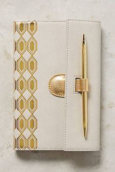 Deco-Gilded Journal