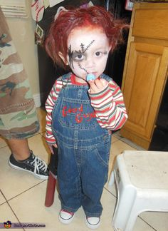 Chucky And His Bride Sibling Costumes Toddler Duo & Children S Chucky Halloween Costume | Cartoonview.co