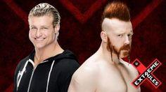 Dolph Ziggler vs. Sheamus in einem Kiss Me Arse Match bei Extreme Rules, Sonntagnacht, 26. April 2015.
