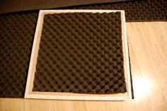 Decorative Sound Absorbing Panels Sound absorbing panels for media room. Could use movie posters instead of painting canvases. Sound Room, Sound Wall, Door Dividers, Media Room Design, Sound Absorbing, Home Studio Music, Diy Home Repair, Acoustic Panels, Sound Proofing