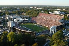 Dowdy - Ficklen Stadium - Home of the East Carolina Pirates Football And Basketball, Football Stadiums, Football Season, Ecu Pirates, East Carolina University, Stadium Seats, Savannah Chat, Paris Skyline, Places To Go