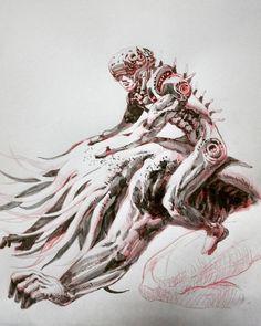 145 個讚,11 則留言 - Instagram 上的 marcorich(@marcorich_mrink_1):「 Ink line #artist #illustrator #painting #drawing #manga #漫画 #girl #graffiti #note #pencil #copic… 」