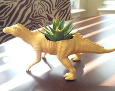 DIY Project: Prehistoric Planters That Bring Dinosaurs Back