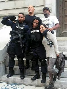 Vin Diesel Michelle Rodriguez Don Omar & Tego Calderón as Dominic Toretto Letty Ortiz, Leo & Santos