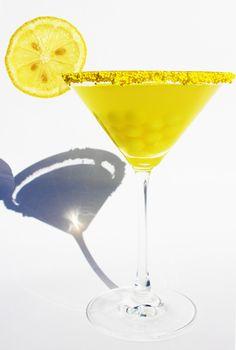 Fashionably Bombed: Halloween Candy Cocktail #2: Lemonhead Drop