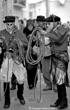 Issohadores #carnival #sardinia
