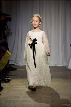 Bonpoint - Couture Fashion for Children Child model wearing Bonpoint Winter 2015 collection at their Paris Fashion show. http://www.pierrecarr.com/blog/2015/03/bonpoint_couturefashionforchildren/