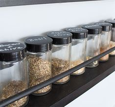 Whatever your design style, there's a spice rack for you! These 9 spice racks are so beautiful they are sure to spark joys for years to come. Spice Rack Organization, Spice Rack Organiser, Kitchen Organization, Organization Hacks, Organizing Ideas, Countertop Spice Rack, Kitchen Spice Racks, Modern Bathroom Design, Modern Interior Design