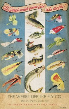 vintage fly fishing catalog