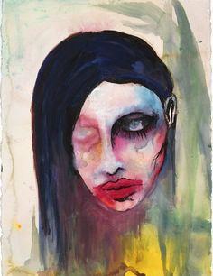Muchas fotos poco vistas de Marilyn Manson [para fanaticos] - Taringa!