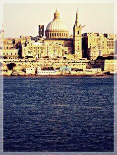 malta, valletta, il-beltt, ravel, mediterranean, landscape, scenery, ocean, sea,