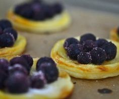 Gluten Free Puff Pastry with Fresh Berries