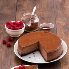 La cheesecake Choco noir - Scuola di cucina | Donna Moderna