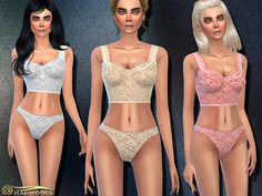 Sims 4 CC's - The Best: Underwear by Harmonia