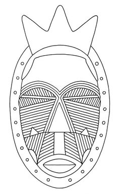 The Lulua were famous for decorating their bodies with intricate scarification marks and tattoos. They also applied these designs to their sculptures African Culture, African History, African Art Projects, Afrique Art, 6th Grade Art, Thinking Day, Masks Art, Middle School Art, Tribal Patterns