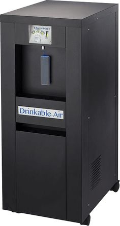 PURE WATER FROM AIR / Drinkable Air - Drink the purest and cleanest water on earth with the Chameleon 8 Atmospheric Water Machine at http://the-best-water-to-buy.wiseconsumers.net/
