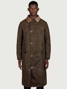 Barbour x Norton & Sons Men's Uist Coat | oki-ni