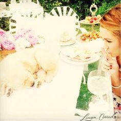 Lauren Conrad garden party