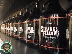 Strange Fellows Brewing. Ultimate Vancouver Craft Beer Brewery List. #BritishColumbia #CraftBeer #Beer #Brewery #Tour #Craft #Beer