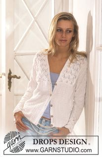 DROPS Cardigan in Muskat ~ DROPS Design