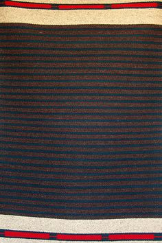 Your Daily Dose of Inspiration! Handwoven Rug by Fred Black.