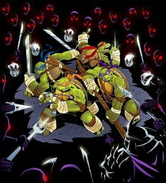 All business Monday's !!  #TMNT
