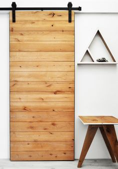 Sliding barn door | latitude by Dogberry Collections