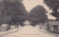 Les Laumes. route de Montbard