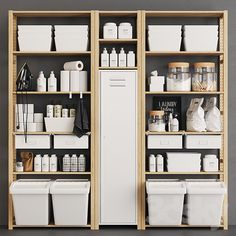 Next Previous models: Bathroom accessories – Ivar Monotone Pantry Source by Next Previous pantry organization ideas - simple modern kitchen…This would be great in a pantry or storm bunker. I… Utilize the empty wall space in your pantry! Ikea Pantry, Kitchen Pantry Storage, Kitchen Pantry Design, Pantry Shelving, Kitchen Pantry Cabinets, Wood Cabinets, Ivar Regal, Laundry Room Shelves, Laundry Rooms