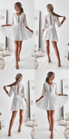 A-Line Homecoming Sleeves Homecoming Dresses,Short Homecoming Dress,White Homecoming Dress With Sash White Homecoming Dresses, Cheap Prom Dresses, Girls Dresses, Dresses Dresses, Party Dresses, Dresses Online, Bridesmaid Dresses, Dresses Short, Formal Dresses