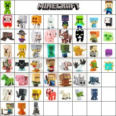Minecraft Mini Figure Series 1 Grass & 2 Stone & 3 Netherrack Loose Choose New in Toys & Hobbies, Action Figures, TV, Movie & Video Games Minecraft Tv, Minecraft Mini Figures, Minecraft Characters, Minecraft Crafts, Minecraft Ideas, Homemade Wall Decorations, Minecraft Bedroom Decor, Minecraft Drawings, Lego