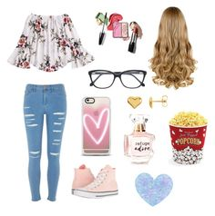 """""""Untitled #17"""" by freyjafifi on Polyvore featuring River Island, Converse, Casetify, Roberto Cavalli, Refuge and West Bend"""
