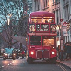 ✦ ride on a London red bus London Red Bus, London City, England Uk, London England, Bus City, London History, London Transport, London Photography, London Photos