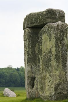 Standing Stones at the ancient Stonehenge site.