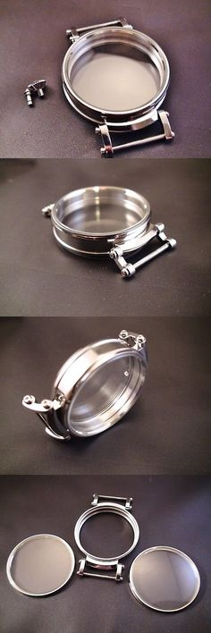 Other Watch Parts 10324: New 47Mm Stainless Steel Case For Conversion Antique Pocket Watch Movement. -> BUY IT NOW ONLY: $100 on eBay!