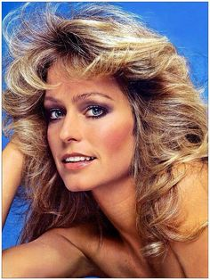 Farrah Fawcet.. this was one of Farrah's pin up posters that was on so many young teenage boys bedroom walls, across the nation when Charlie's Angels was popular