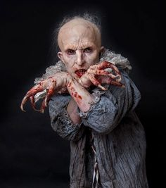 Hiroshi Yada's award winning makeup for American Horror Story's Infantata