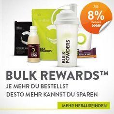 BulkPowders-Sportnahrung-Sporternährung-Nahrungsergänzung-Cashback-Rabatt-Preisnachlass-günstig, Bonus, Preisnachlass für YubyYu