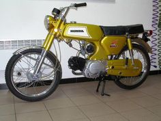 Honda s110 benly