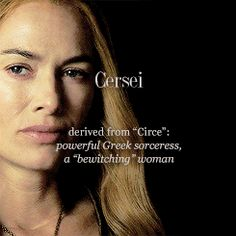 .Lena Headey as Cersei Baratheon: the meaning of Cersei