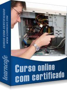 Curso de Hardware - Montagem e Manutenção de Computadores - Capacitar o aluno para montar, fazer manutenção de computador, desmontar, limpar e reparar impressora e a configurar uma rede local utilizando o Windows