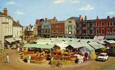 Grimsby Old Market Place 1 Large. Old Pictures, Old Photos, Gower Peninsula, Old Street, The Old Days, Local History, Cumbria, Old Town, Retro 2