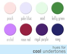 Nail polish hues that work the best for skin with cool undertones