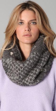 Eugenia Kim Skyler Herringbone Cowl - StyleSays