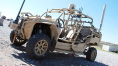 Deadly dune buggies: Army tests vehicles for 21st-century combat